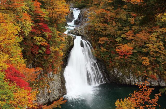 法体の滝と玉田渓谷