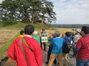 ジオパーク全国大会にて九十九島を見て回る参加者